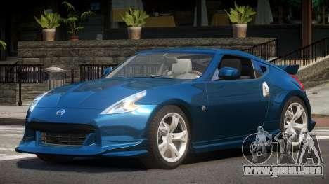 Nissan 370Z SR para GTA 4