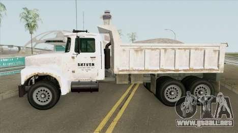 Brute Tipper (II) GTA V para GTA San Andreas