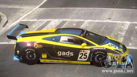 Lamborghini Gallardo LP560 SR PJ1 para GTA 4