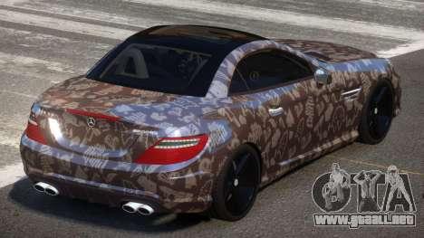 Mercedes Benz SLK Qz PJ3 para GTA 4