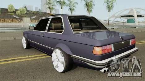 BMW 3-er E21 (Wide Body) para GTA San Andreas