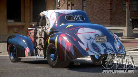 Willys Coupe 441 PJ3 para GTA 4