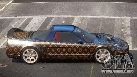 Honda NSX-R LT PJ1 para GTA 4