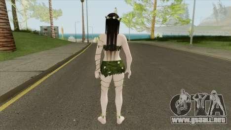 Hot Kokoro Summertime V2 (Jungle Version) para GTA San Andreas