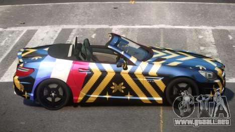Mercedes Benz SLK DDS PJ6 para GTA 4
