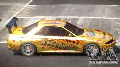 Nissan Skyline R32 D-Style PJ2 para GTA 4