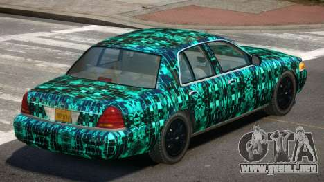 Ford Crown Victoria CL PJ2 para GTA 4