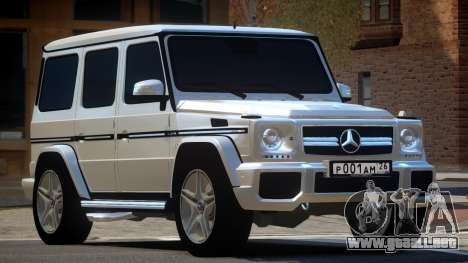 Mercedes Benz G65 V2.1 para GTA 4