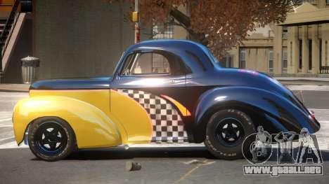 Willys Coupe 441 PJ6 para GTA 4