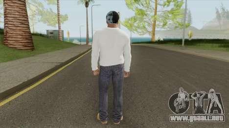 Franklin Clinton (White Outfit) para GTA San Andreas