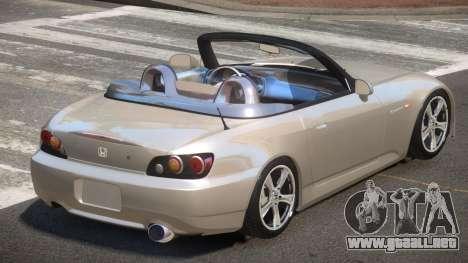 Honda S2000 SR para GTA 4