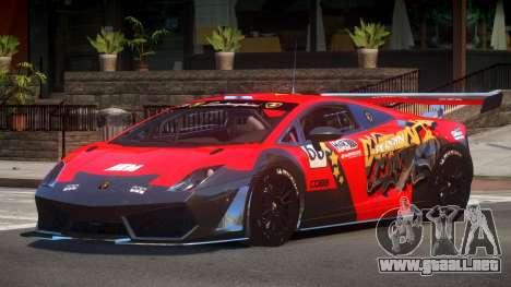 Lamborghini Gallardo LP560 SR PJ6 para GTA 4
