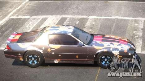 Chevrolet Camaro IR PJ2 para GTA 4
