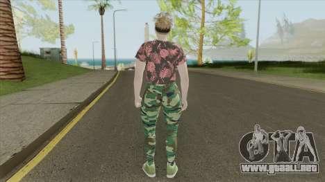 Random Female Skin V1 (GTA Online) para GTA San Andreas