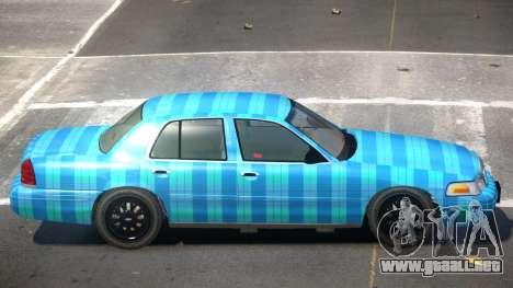 Ford Crown Victoria CL PJ5 para GTA 4