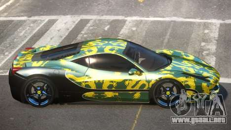 Ferrari 458 SRI-37 PJ2 para GTA 4