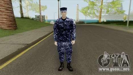 US Navy Soldier para GTA San Andreas