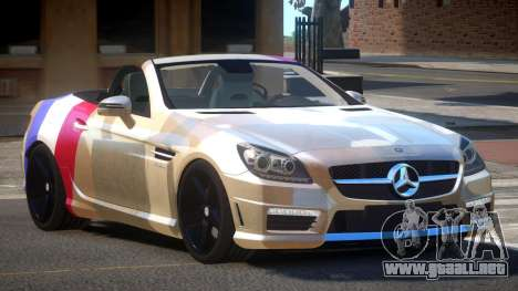 Mercedes Benz SLK DDS PJ1 para GTA 4