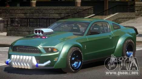 Ford Shelby GT500 Custom para GTA 4