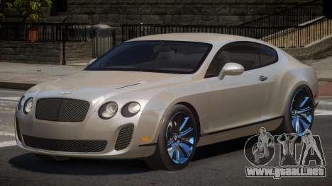 Bentley Continental SR para GTA 4