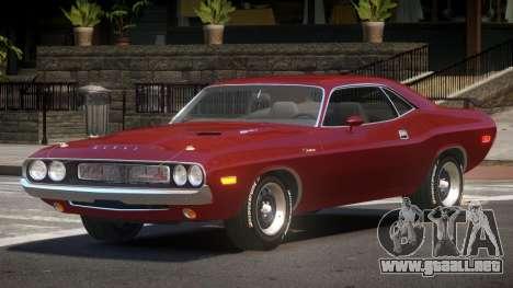1972 Dodge Challenger RT para GTA 4