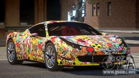 Ferrari 458 Qz PJ1 para GTA 4