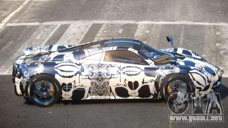 Pagani Huayra R-Tuned PJ3 para GTA 4