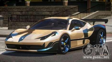 Ferrari 458 SRI-37 PJ3 para GTA 4