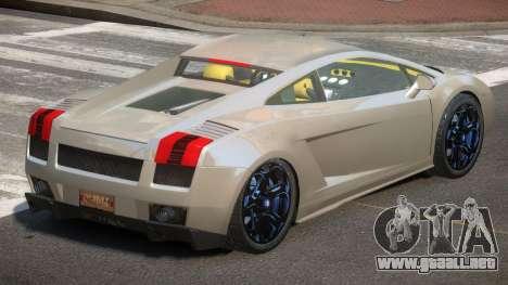 Lamborghini Gallardo V1.2 para GTA 4