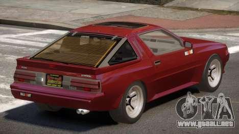 Mitsubishi Starion SR para GTA 4
