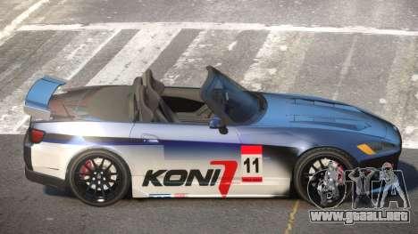 Honda S2000 D-Style PJ6 para GTA 4