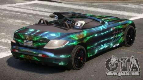 Mercedes-Benz SLR RTF PJ5 para GTA 4