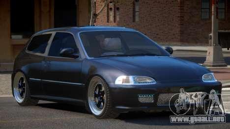 Honda Civic RTS para GTA 4