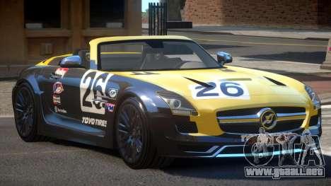 Mercedes-Benz SLS H-Style PJ1 para GTA 4
