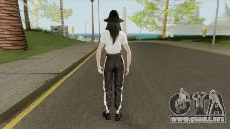 Kim Jisoo (BLACKPINK) para GTA San Andreas