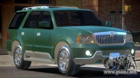 Lincoln Navigator RS para GTA 4