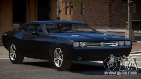 Dodge Challenger C-Tuned para GTA 4