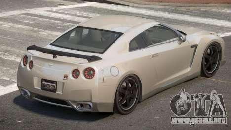 Nissan GT-R IS para GTA 4