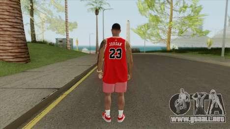 Random Male V1 (Chicago Bulls) para GTA San Andreas