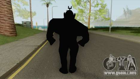 Shadow Tubbie (SlendyTubbies 3) para GTA San Andreas