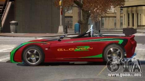 Lotus 2-11 R-Tuned para GTA 4