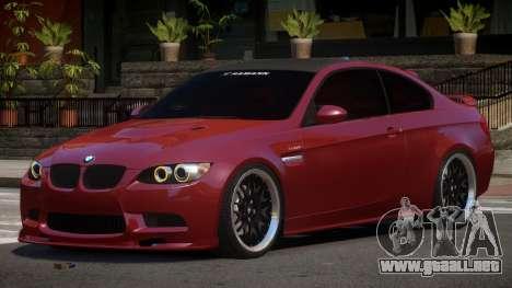 BMW M3 E92 G-Style para GTA 4