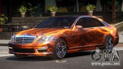 Mercedes-Benz S65 ES PJ1 para GTA 4