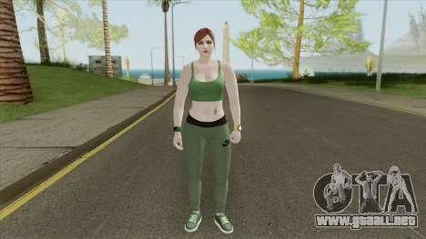 Random Female Skin V3 (Sport Gym) para GTA San Andreas