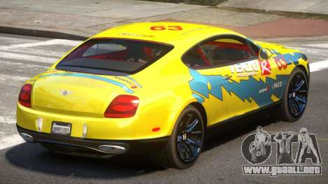 Bentley Continental RT PJ1 para GTA 4
