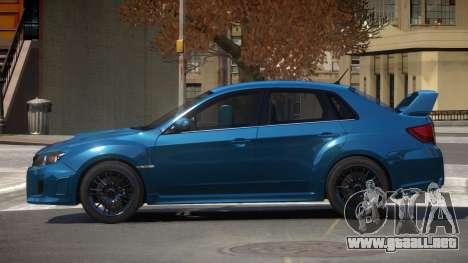 Subaru Impreza S-Tuned para GTA 4