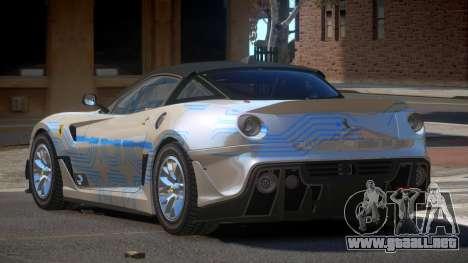 Ferrari 599XX R-Tuning PJ1 para GTA 4