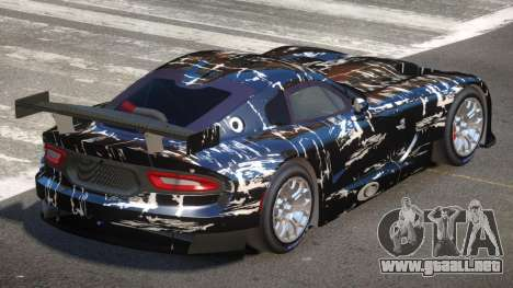 Dodge Viper SRT L-Tuning PJ4 para GTA 4