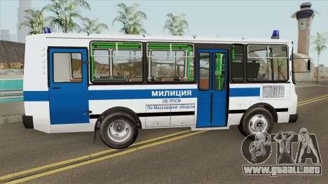 PAZ 3205 Milicia (HQ) para GTA San Andreas