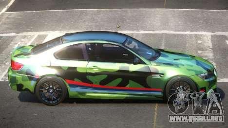 BMW M3 E92 LR PJ3 para GTA 4